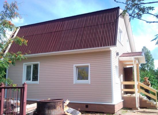 Строительство загородного Дома в Пробе